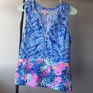 EUC LILLY ESSIE TOP M
